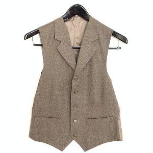 Other - Men's Vest – Brown Tweed